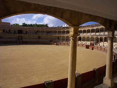 "The empty ring looks almost pristine. Check out the Bull Fighting Museum for a vicarious picture of the blood, the mud and the gore. With pictures, artwork, posters, costumes (and even the mounted heads of some of the ""best bulls"") it is a small museum not to be missed. An incomparable glimpse into the Spanish culture."