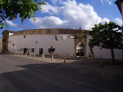 """Built in 1785, the bullring in Ronda is one of the oldest and most important bullrings in Spain. The bull fights occur in the first two weeks in September. There are two kinds of seats: """"Sol"""" for sun (cheaper); and """"Sambra"""" for shade. Fans travel from all over the country for the unique atmosphere here. And millions watch the September bull fights on television."""