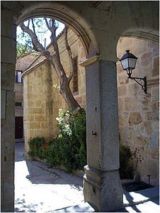 University Courtyard.