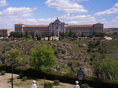 Country palace. Toledo is a small city surrounded by rugged countryside.