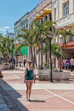 Cienfuegos Pedestrian Mall