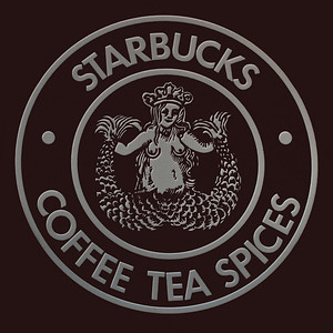 Starbuck's original logo. Changed a bit since the beginning. I like the original.