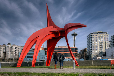 Olympic sculpture park. Free. Recommended!