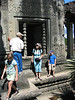 Our tour guide around Angkor Wat