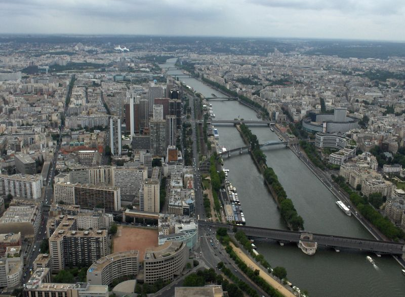 From the Eiffle Tower