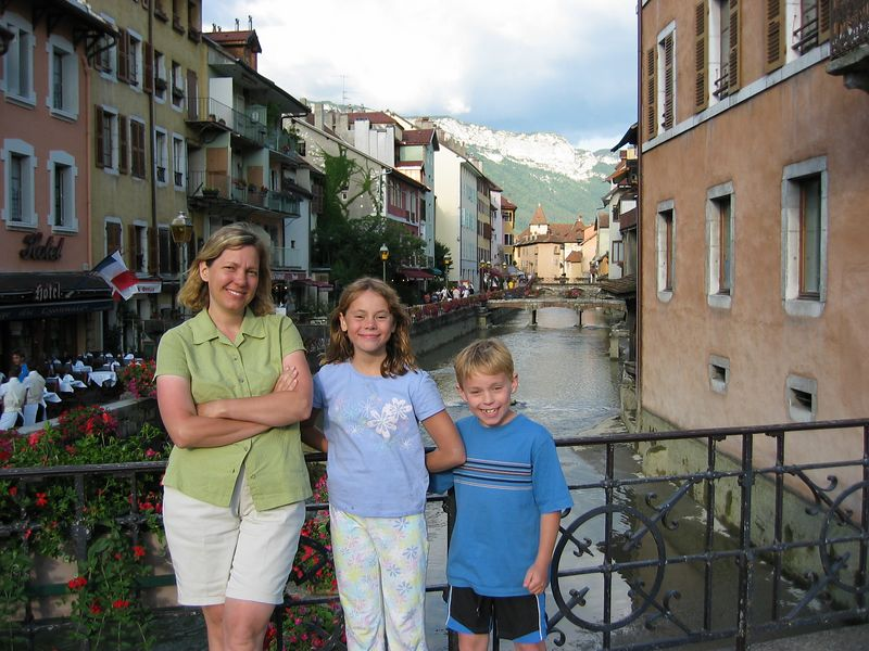 Annecy, in the French Alps.