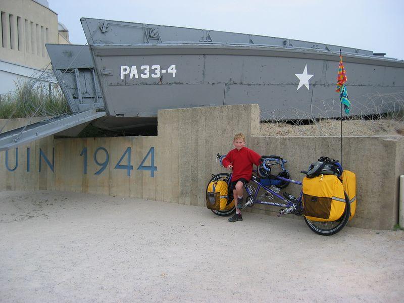 Utah Beach, Normandy, France.