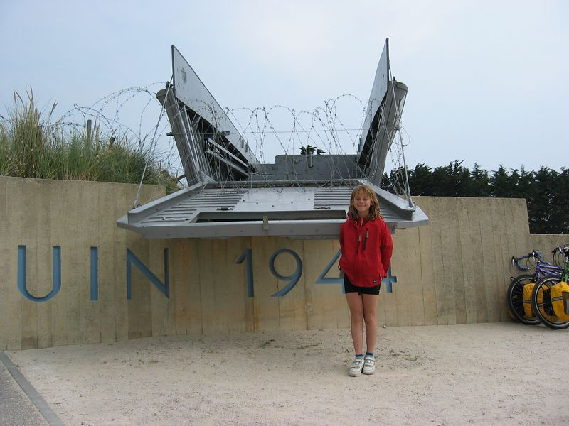Utah Beach, Normandy, France.