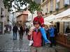Walking the streets in Cesky Krumlov
