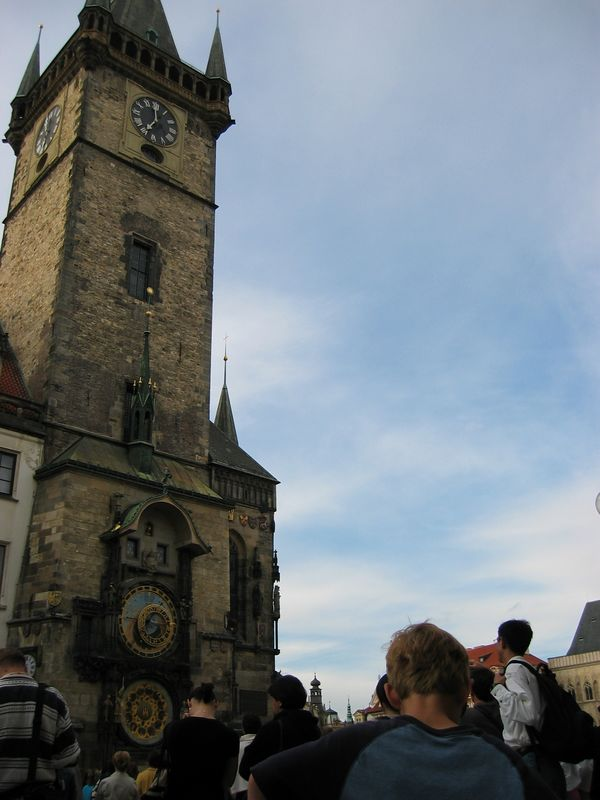 The Astronomical Clock, town square, Prague