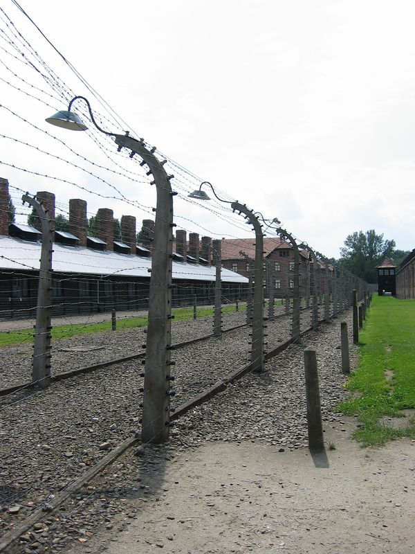 Fence at Auschwitz
