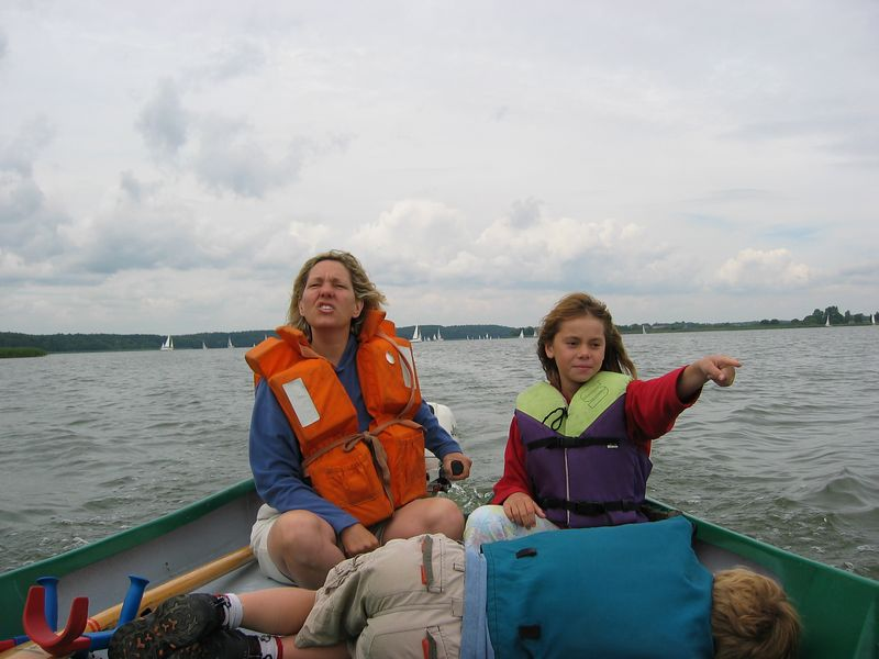 Goin' on a boat ride!  Lake country (Mikalojaky) Poland