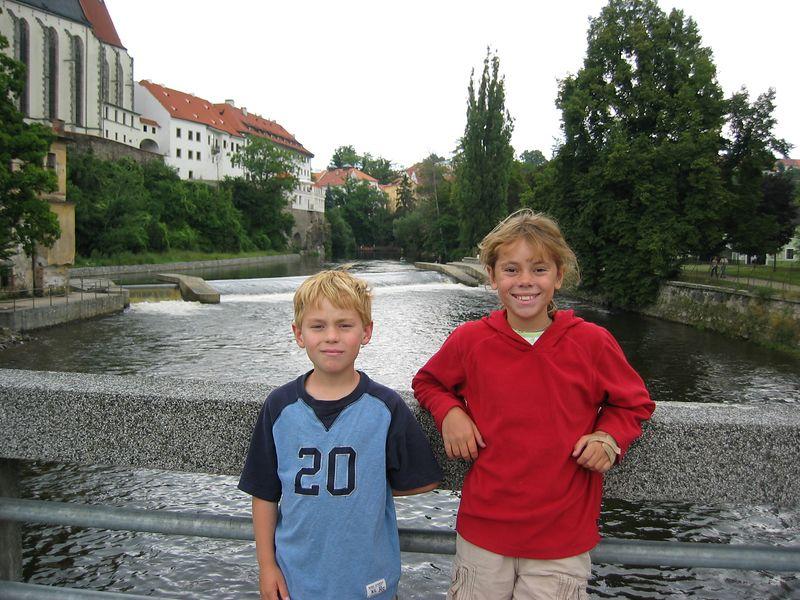 Vltava River, Cesky Krumlov