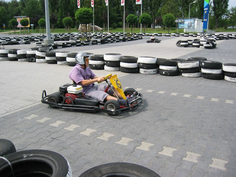 Go kart racing - Krakow