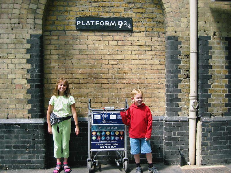 King's Cross Station, platform 9 3/4