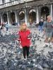 Pigeon heaven, Saint Marks Basillica, Venice.