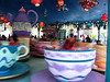 I am legendary in the teacups.  September wouldn't ride with us.