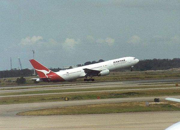 Flight to Sydney - then on to Bangkok...