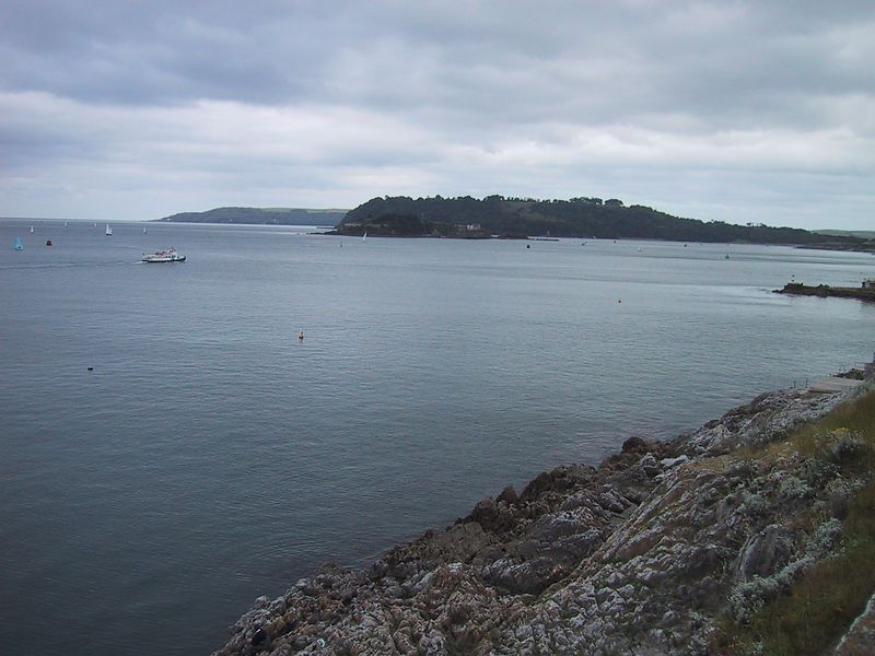 D0177.JPG - 17/06/01 11:10am   Looking into Plymouth Sound.