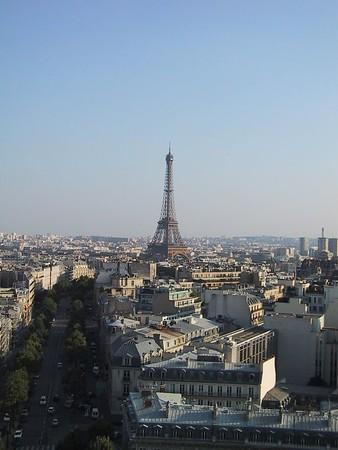 D0243.JPG - 24/08/01 5:55pm   The Eiffel Tower once again.