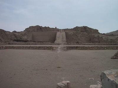 D0484   Pachacamac ruins.