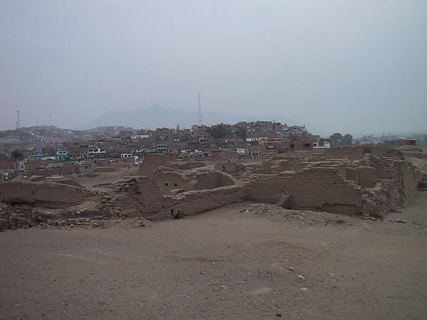 D0487   Pachacamac ruins.