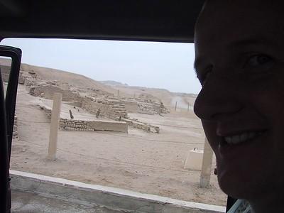 D0490   Craig at Pachacamac ruins.
