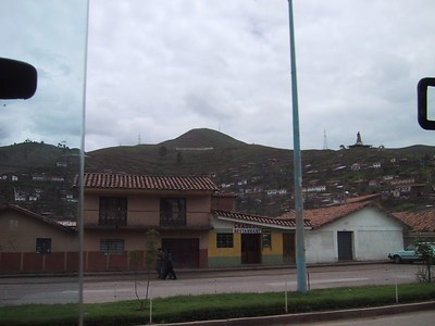 D0494   Cusco on our way from the airport.