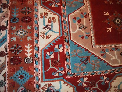 D0588   This is the pattern we chose for our rug we had made in Turkey.