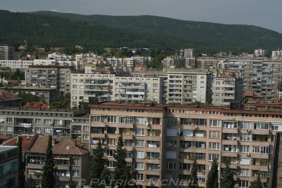 Communist type housing in Stara Zagora