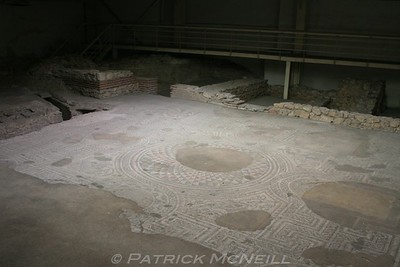 Stara Zagora - Ancient floor discovered in the middle of the post office, so they built around it