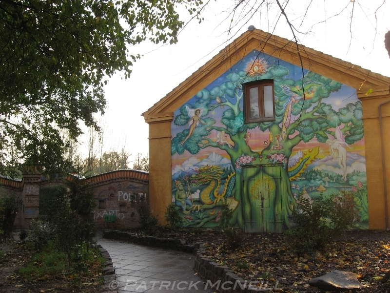 Christiania - A self-governed state in the middle of the city, full of hippies, which may not be there anymore due to the government wanting to develop the area