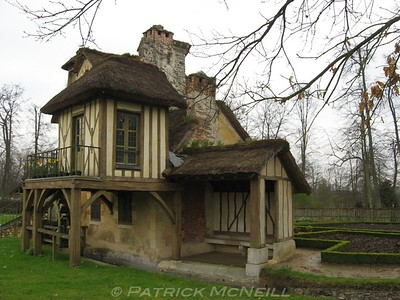 Palace of Versailles - Mary Antoinette's little cotwold style village she had made on the property