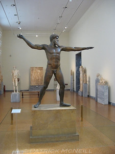 This guy was found in a shipwreck, and it was in my textbooks when I took Greek history