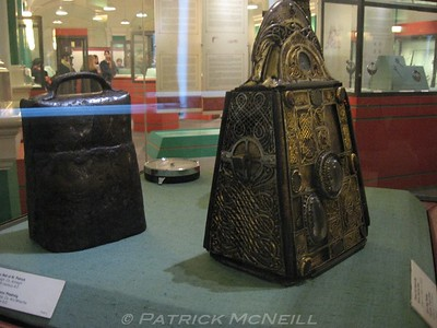 St. Patrick's bell and carrying case