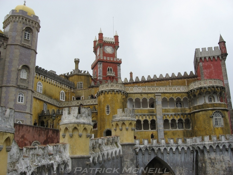 Pena Palace in Sintra - None of my photos do the place justice