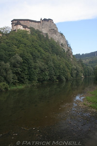 Oravski Hrad (Orava Castle), excellent castle, one of my favourites, the movie Nosferatu was shot here (an old vampire movie)