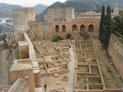 At the Alhambra palace