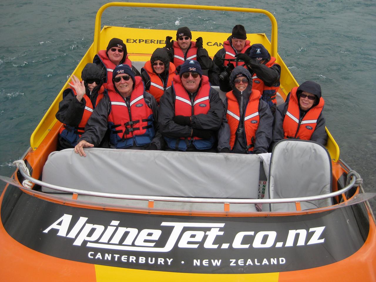 hamilton jet boat does 90khr