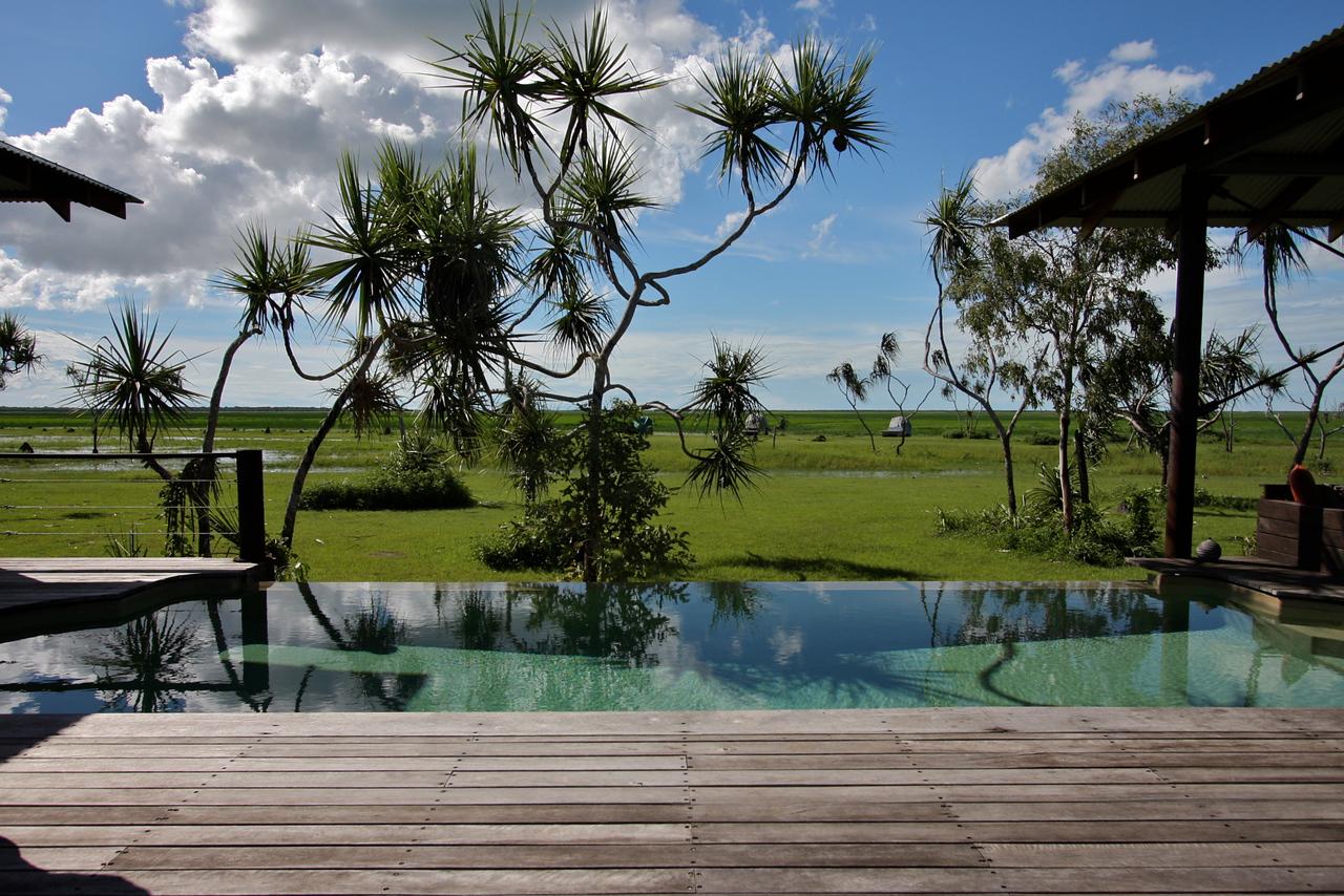view from bamurru deck