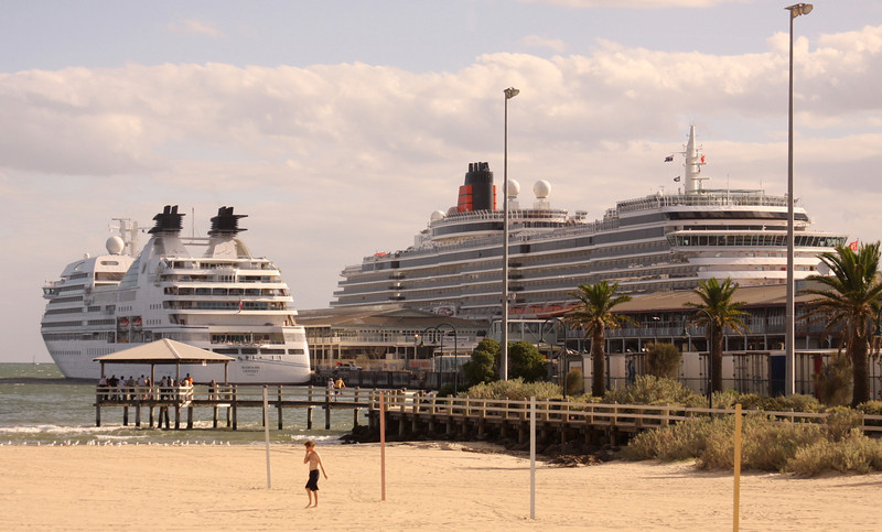 queen victoria in next dock