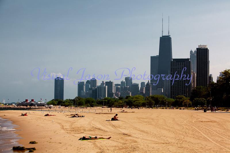 Lincoln Park Beach<br /> Chicago, IL