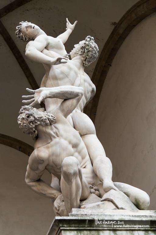 il ratto delle sabine del giambologna / the rape of the sabine women