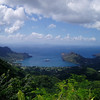 Nuku Hiva view from the mountains