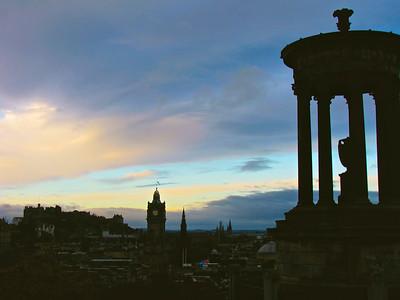 Calton Hill, Edinburgh Scotland November 2008