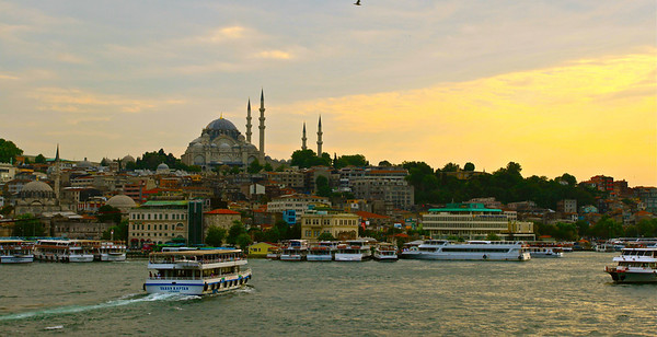 Süleyman Mosque Istanbul, Turkey July 2010