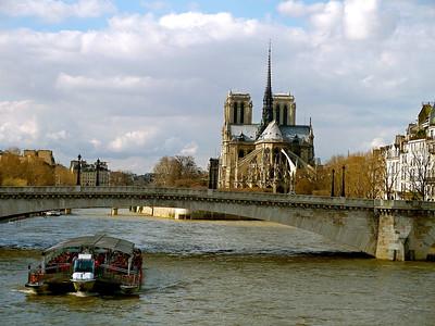 Notre Dame  Paris, France March 2007