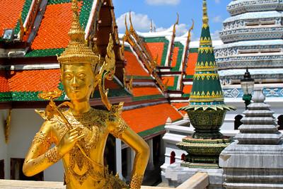 Grand Palace Bangkok, Thailand July 2011