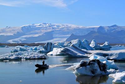 Jokulsarlon and the Blue Lagoon