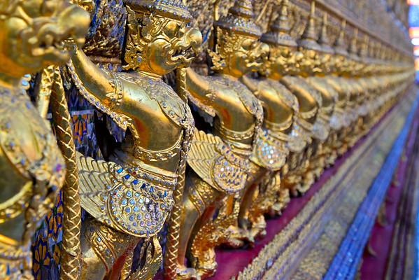 Grand Palace, Bangkok. Thailand July 2011